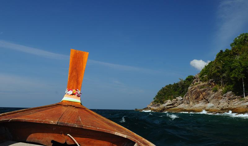 Идём на остров Ко Аданг с Ко Липе. 39