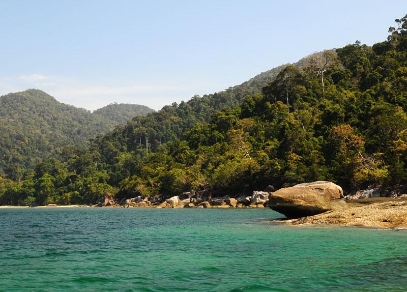 Идём на остров Ко Аданг с Ко Липе. 54