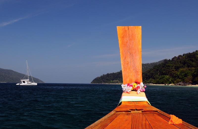 Ко Аданг. Идём на остров с Ко Липе. 66