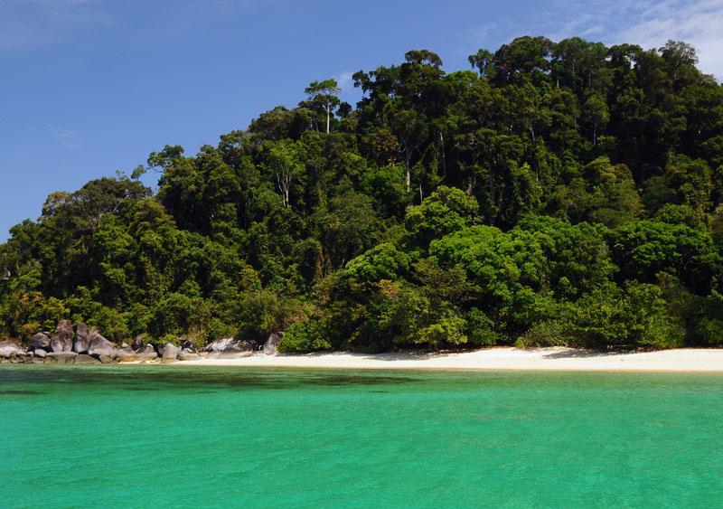 Ко Аданг. Идём с острова Ко Липе. 79