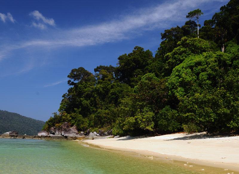 Ко Аданг. Идём с острова Ко Липе. 85