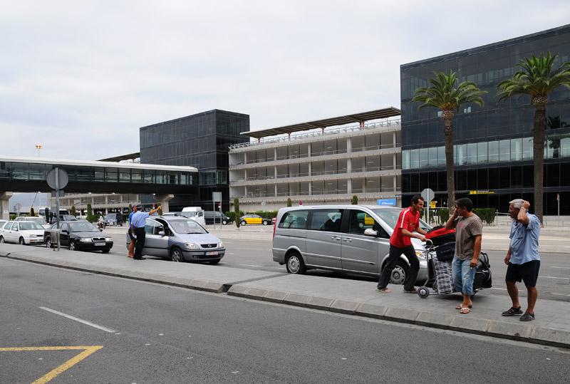 Барселона. Аэропорт.  Barcelona. Фото 8.