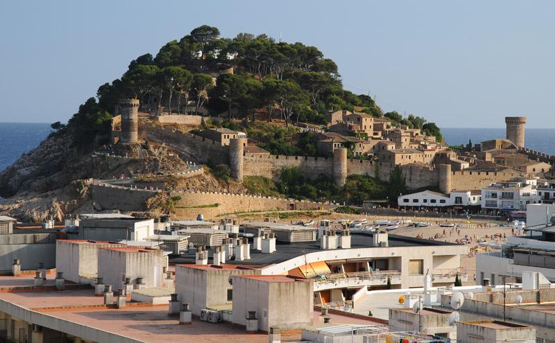 Тосса де Мар. Крепость. Tossa de Mar. Фото 26.