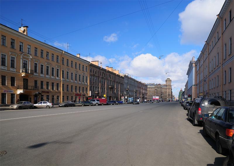 Измайловский проспект. Санкт-Петербург.