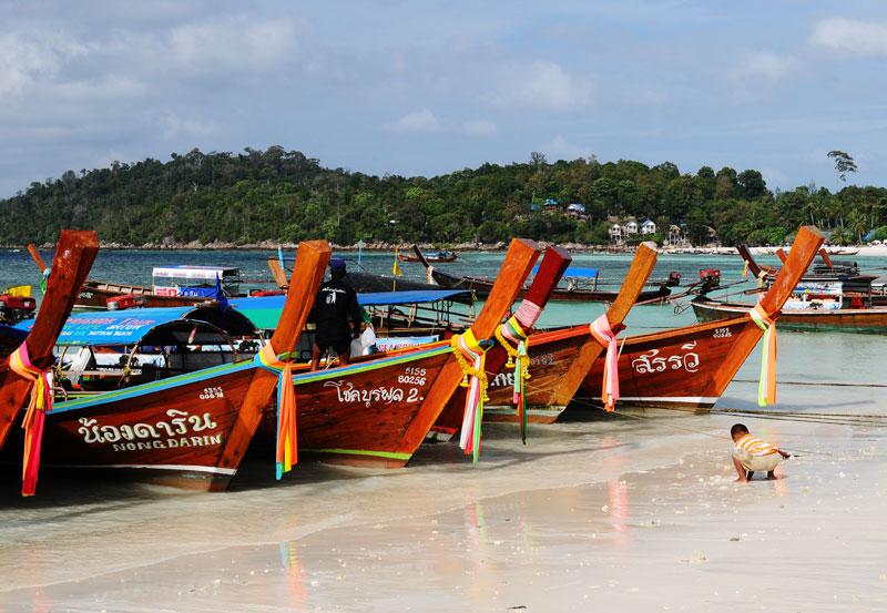Ко Липе. Пляж Паттайя. Ko Lipe. Pattaya Beach. 160.
