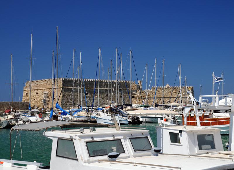 Ираклион. Венецианская крепость и порт. 9