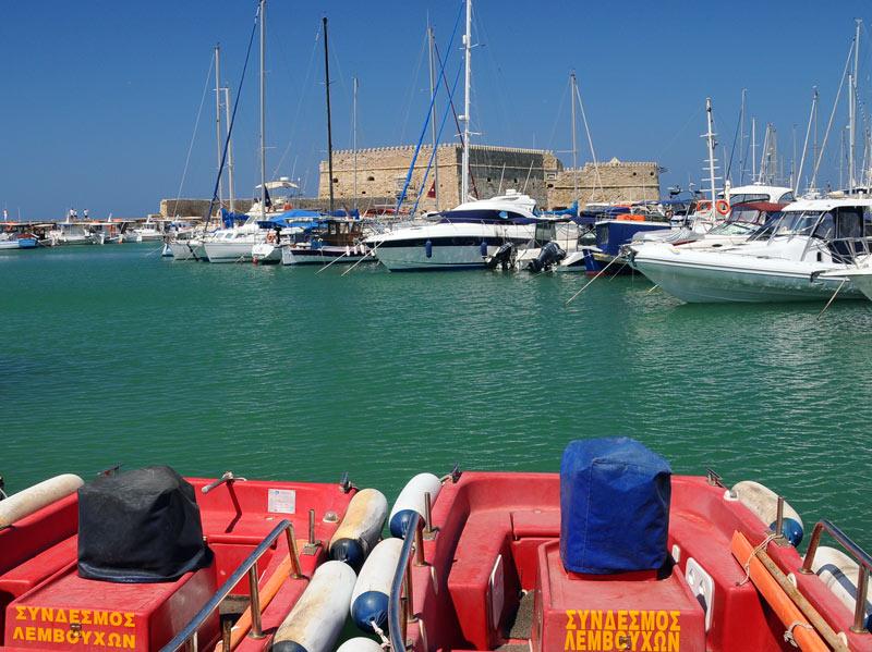 Ираклион. Венецианская крепость и порт. 8