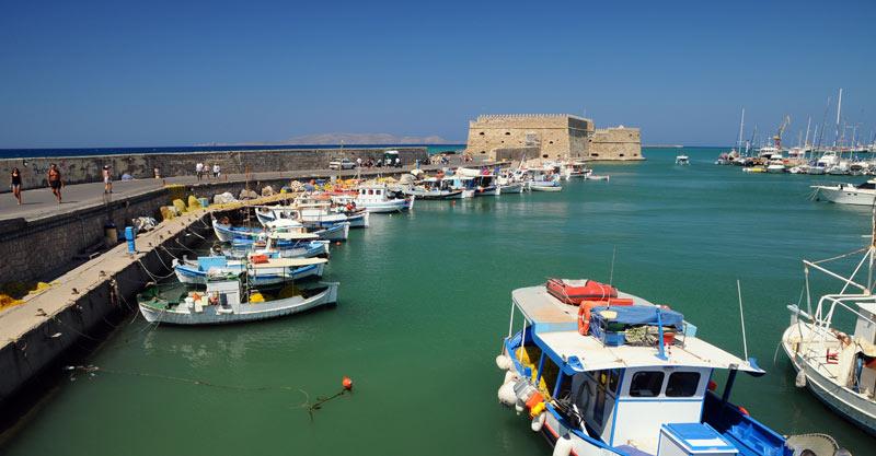 Ираклион. Венецианская крепость и порт. 20