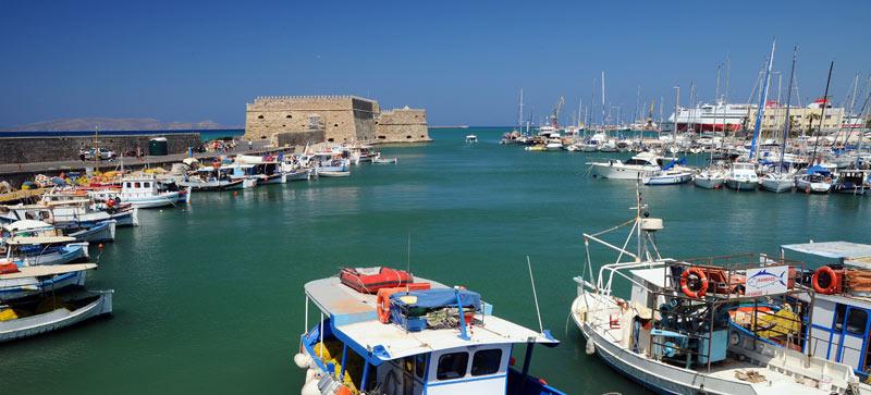 Ираклион. Венецианская крепость и порт. 21