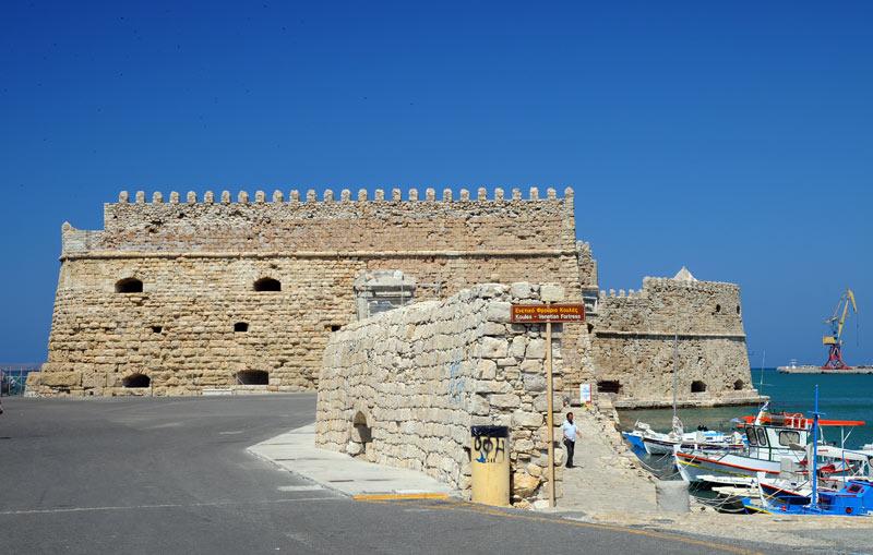 Ираклион. Венецианская крепость и порт. 27