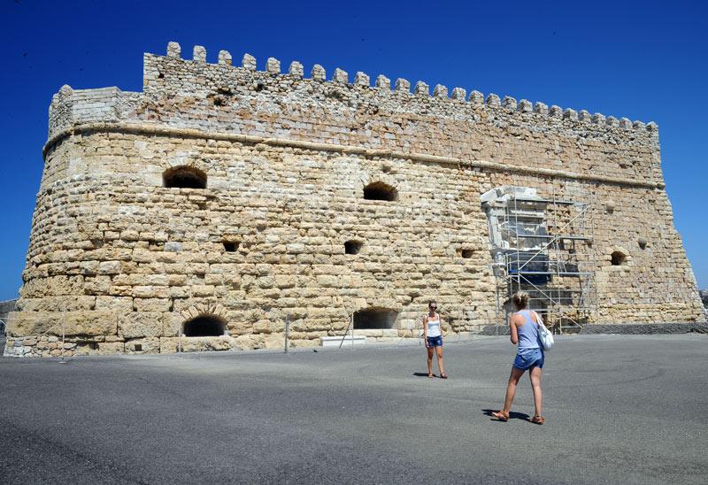 Ираклион. Венецианская крепость и порт. 33