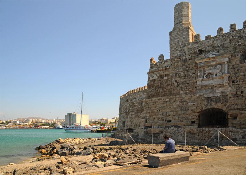 Ираклион. Венецианская крепость и порт. 41