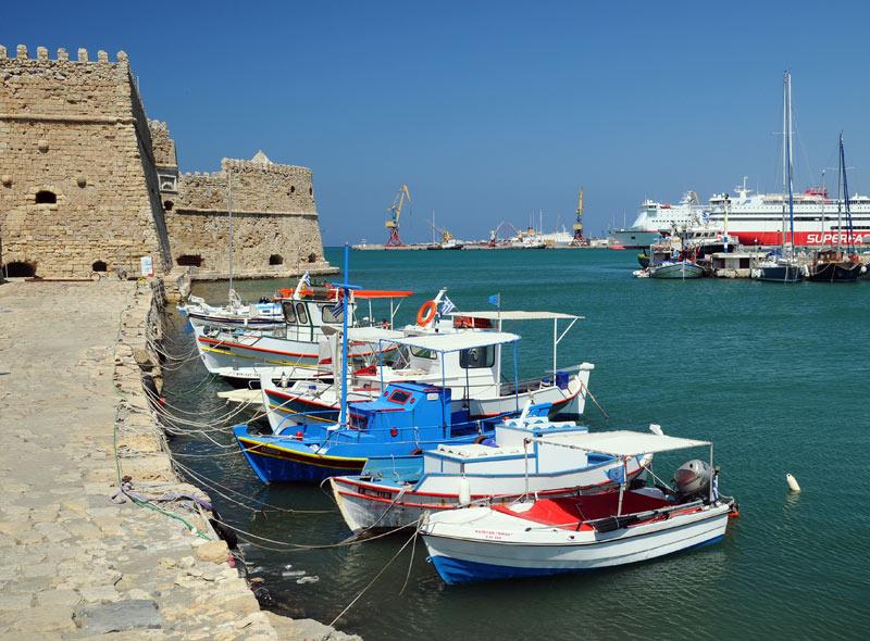 Ираклион. Венецианская крепость и порт. 46