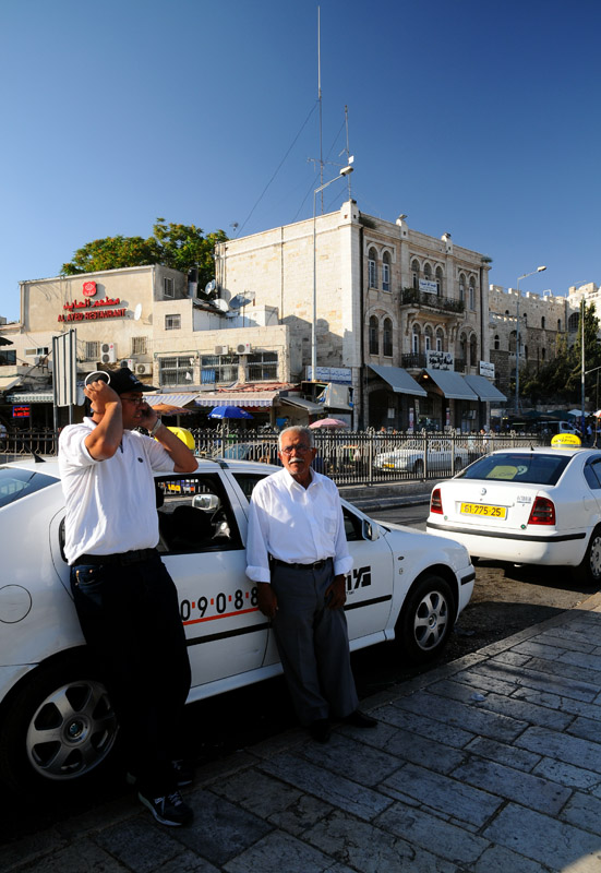 Иерусалим. Таксисты.