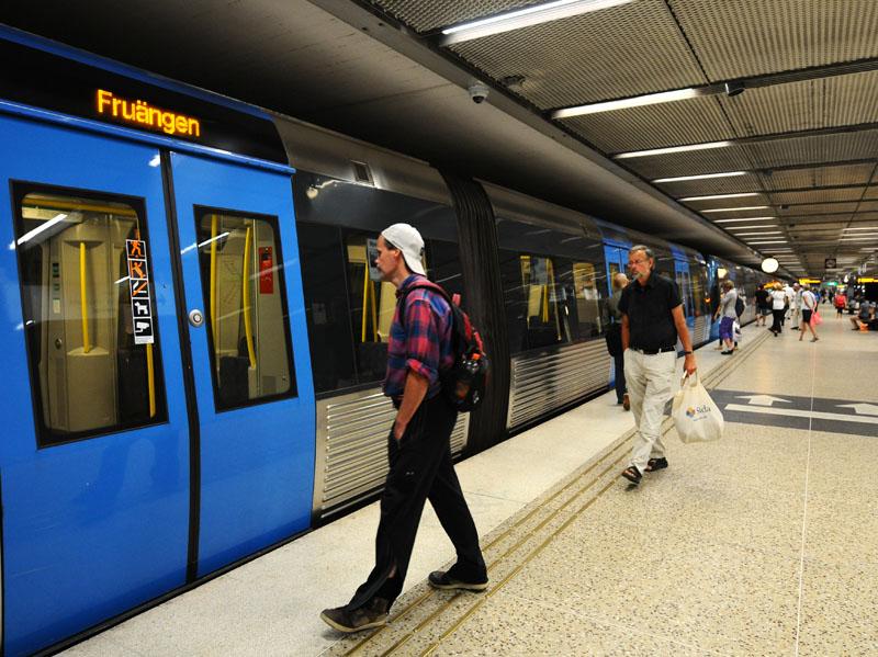 Стокгольмское метро. 18.