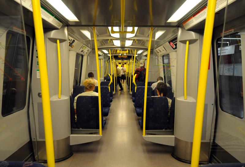 Стокгольмское метро. Stockholm T. 19
