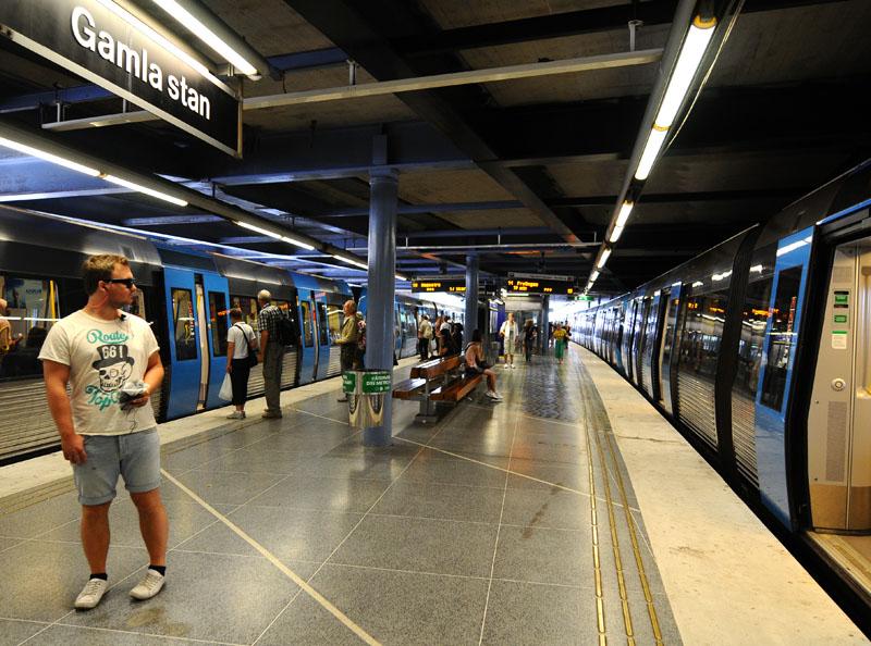 Стокгольмское метро. Stockholm T. 20