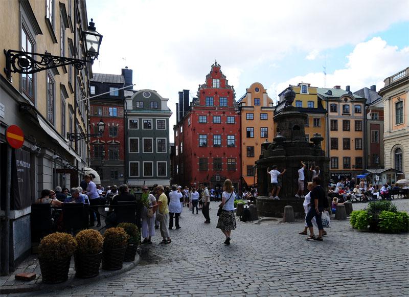 Стокгольм. Стурторьет. Stockholm. 30