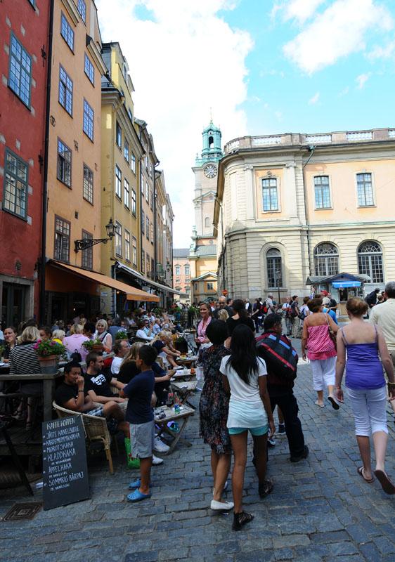 Стокгольм. Площадь Стурторьет. Stockholm. 33