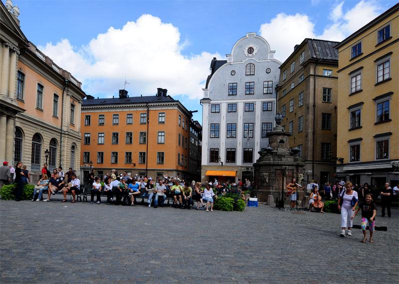 Стокгольм. Площадь Стурторьет. Stockholm. 34