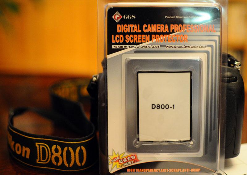 Защита дисплея для Nikon D800.