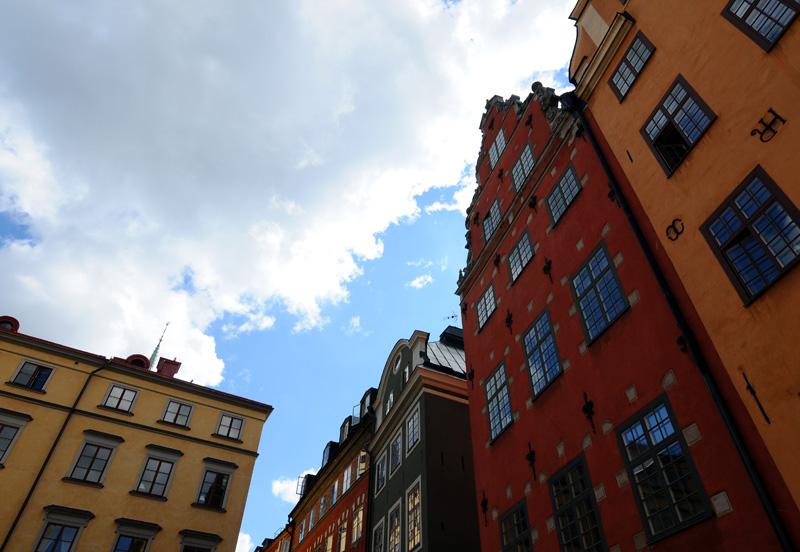 Стокгольм. Площадь Стурторьет. Stockholm. 37