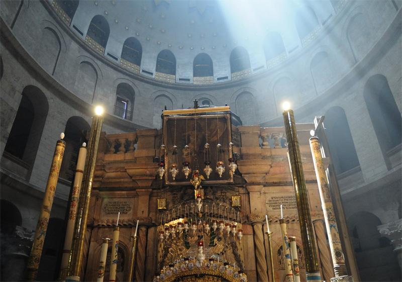 Храм Гроба Господня. Купол. 4