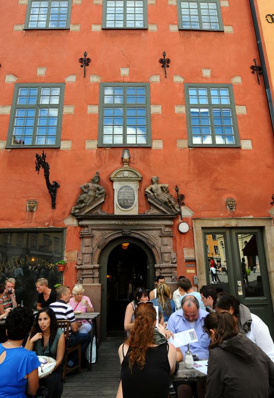 Стокгольм. Площадь Стурторьет. Stockholm. 36