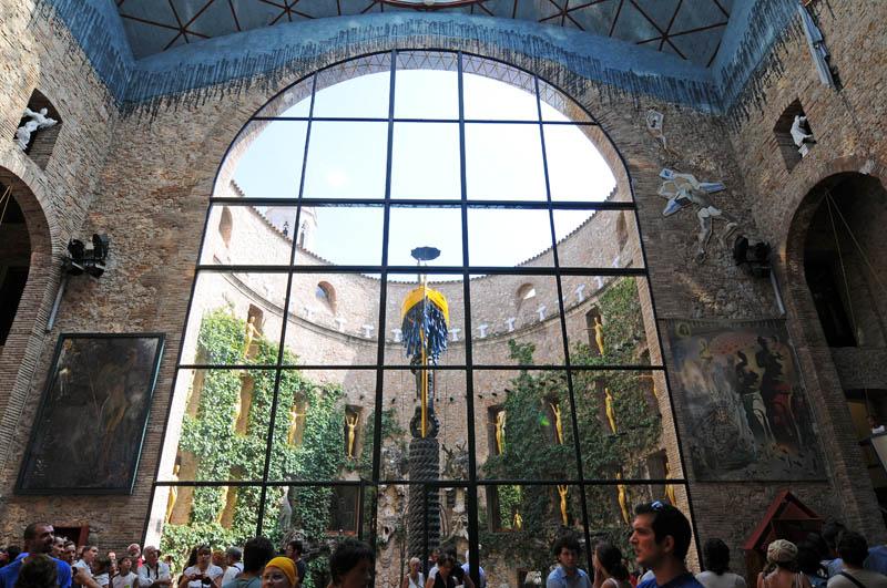 Музей Дали. Сцена-Купол. Dali Museum.