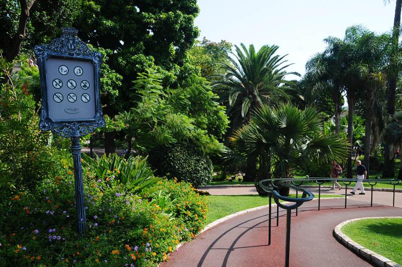 Монако. Парк перед казино. Monaco. Фото 21.