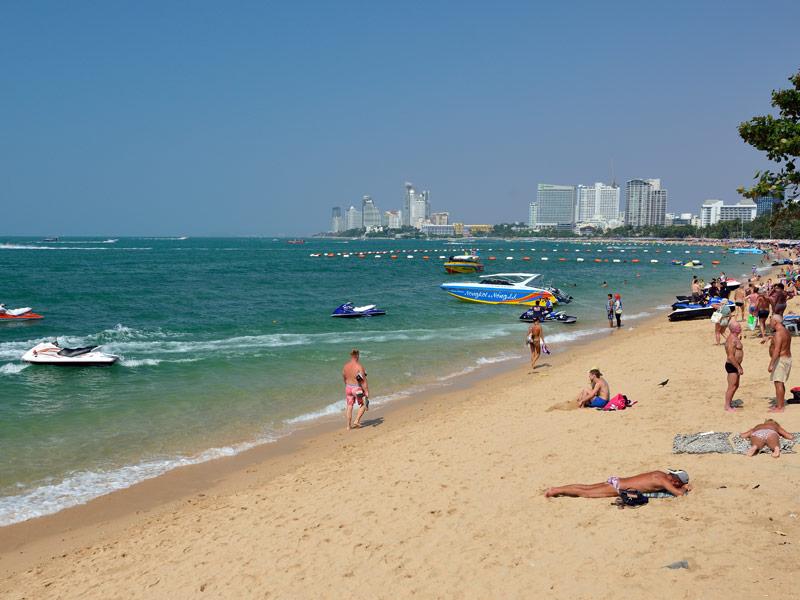 Пляж Паттайя. 1