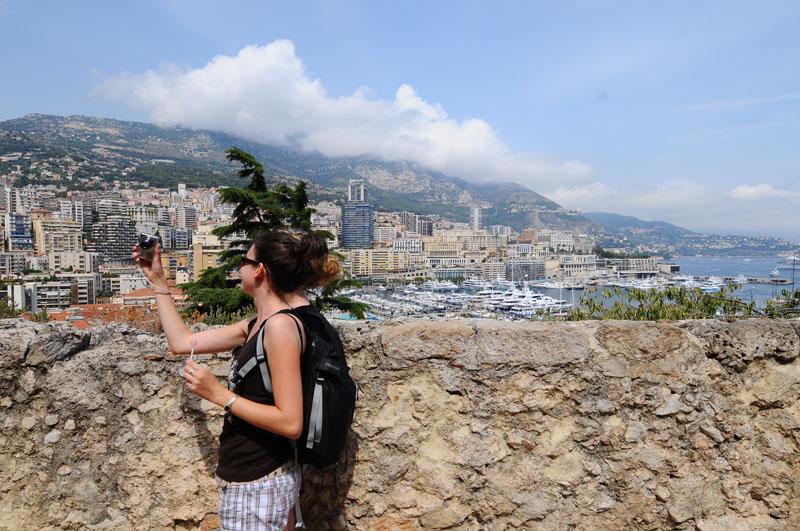 Монако. На подступах к крепости
