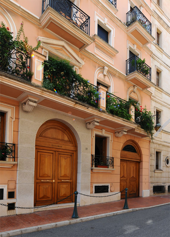 Монако. Крепость. Monaco. Фото 93.
