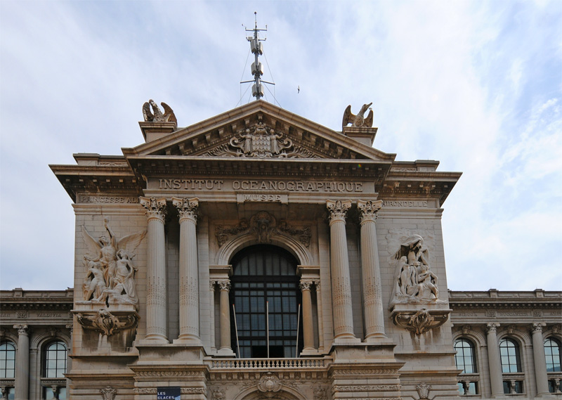 Монако. Океанографический музей. Monaco. 126.