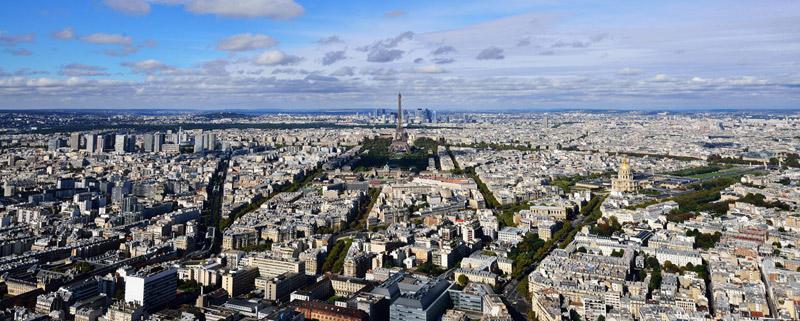 Париж с башни Монпарнас. 1
