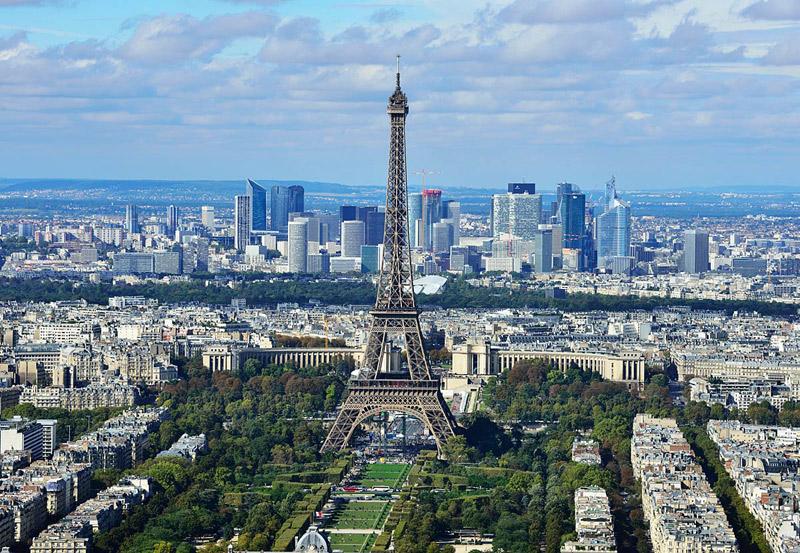 Париж с башни Монпарнас. 2