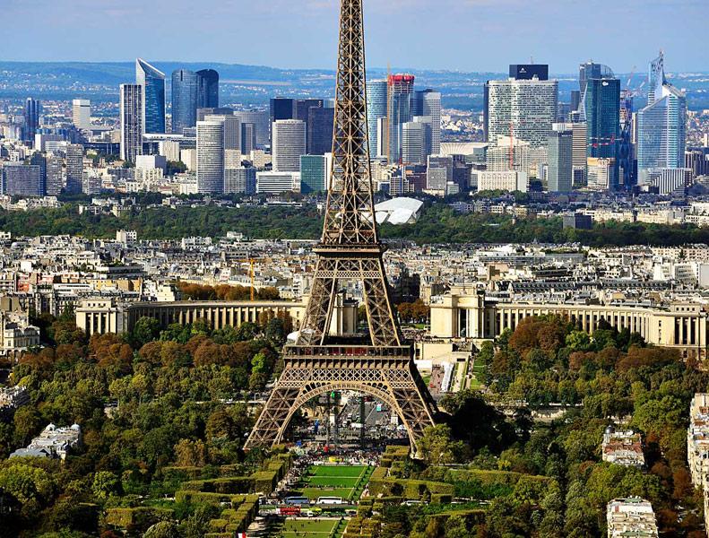 Париж с башни Монпарнас. 3