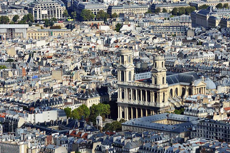Париж с башни Монпарнас. 4