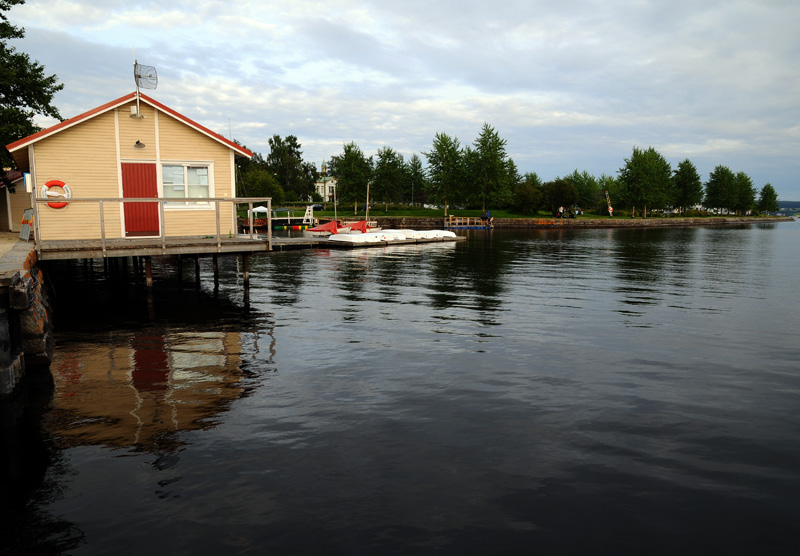 Остерсунд. Озеро Стуршён. Ostersund. 36.