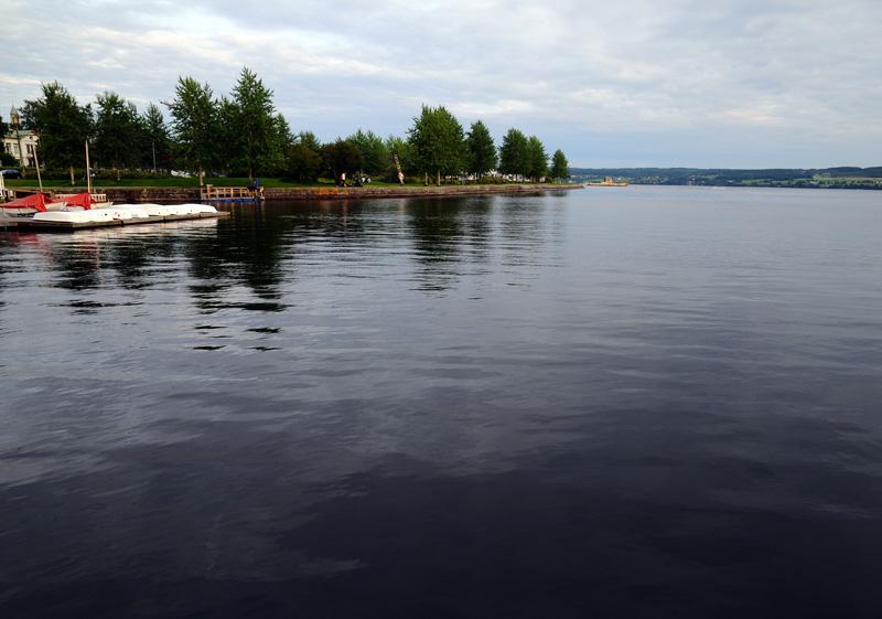 Остерсунд. Озеро Стушён. Ostersund. 30.