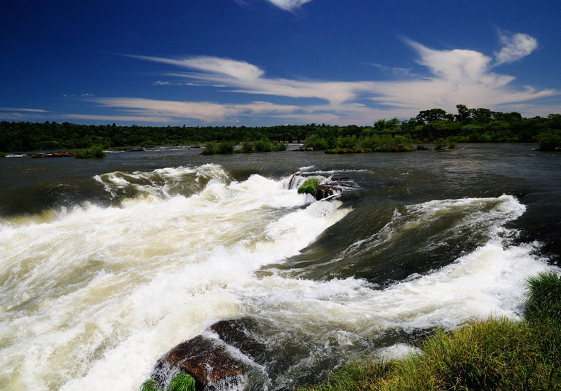 Водопады Игуасу. Глотка Дьявола. Аргентина. Iguasu Waterfall. Argentina.(c) Smyslik