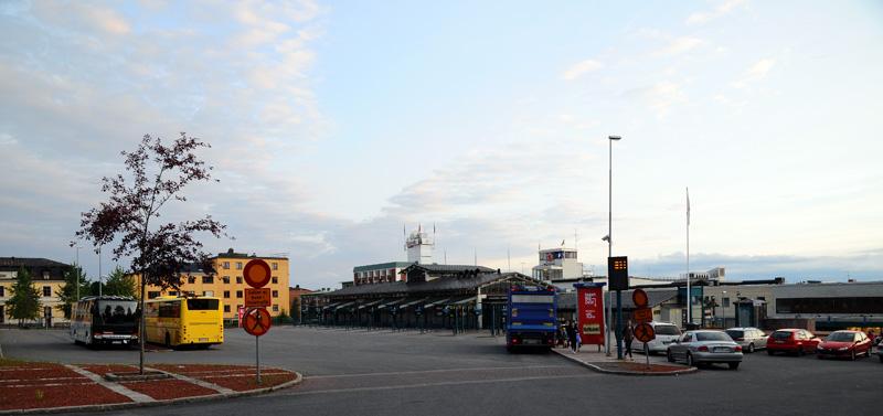 Эстерсунд. Автовокзал. Ostersund. 61