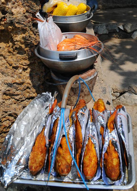Паттайя. Еда на пляже. Pattaya. 60