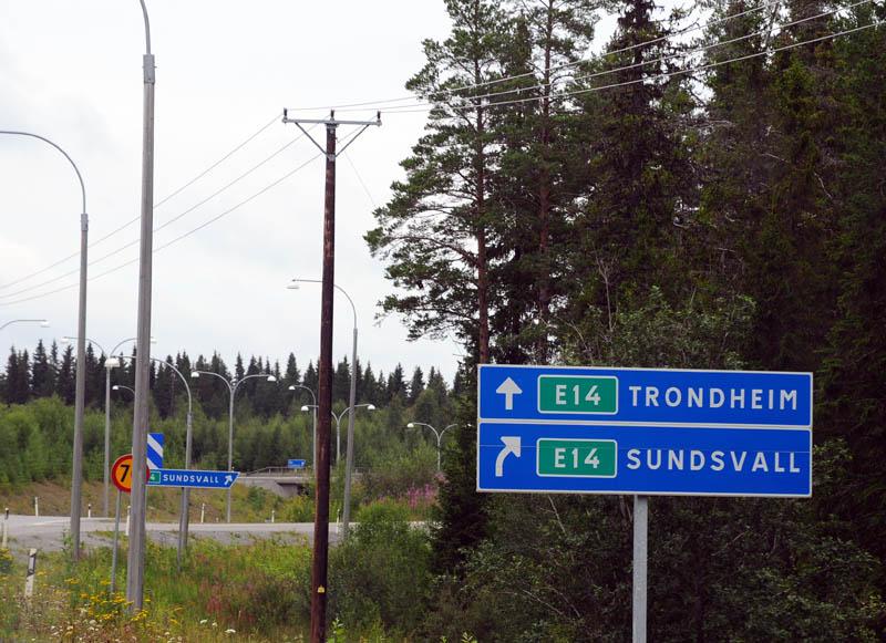 Остерсунд - Трондхейм. Е14. (c)Smyslik 2