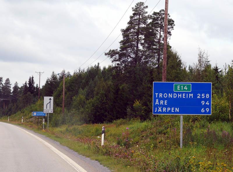 Остерсунд - Трондхейм. Е14. (c)Smyslik 3