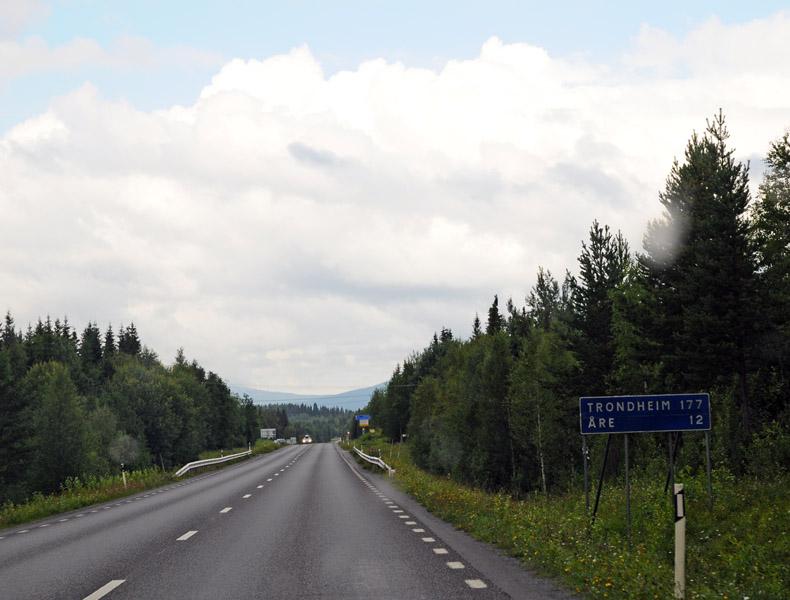 Остерсунд - Тронхейм. Е14. (c)Smyslik 19