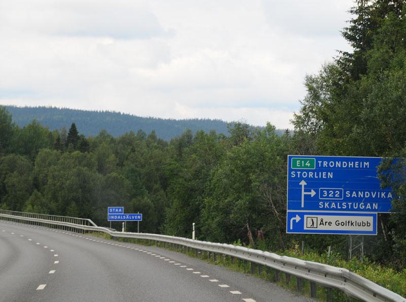 Остерсунд - Трондхейм. Е14. (c)Smyslik 28