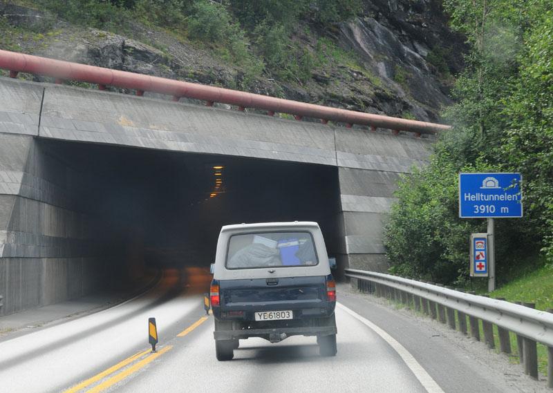 Остерсунд - Тронхейм. Тоннель. Е14. (c)Smyslik 72