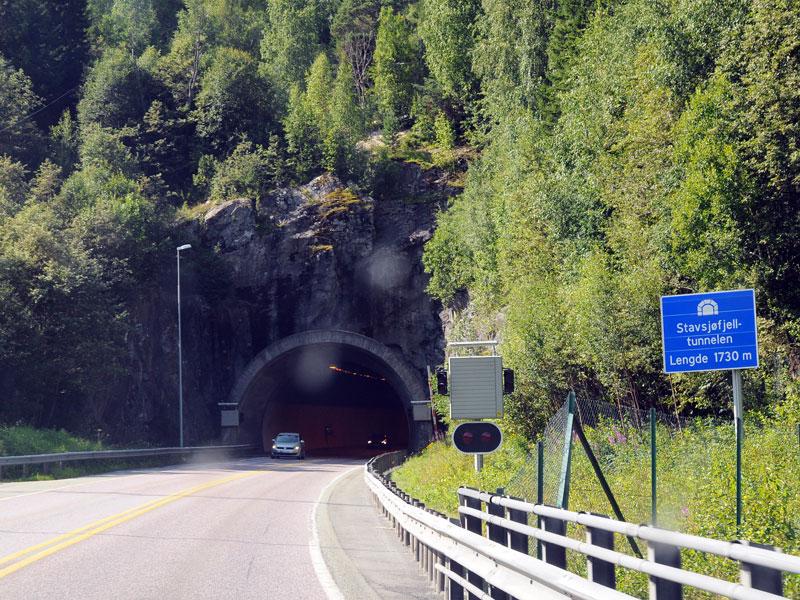 Эстерсунд - Трондхейм. Тоннель. Е14. (c)Smyslik 78