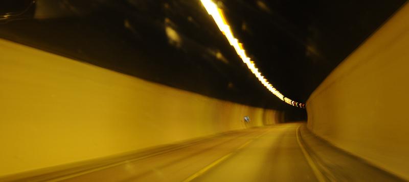 Остерсунд - Трондхейм. Е14. Тоннель. (c)Smyslik 79